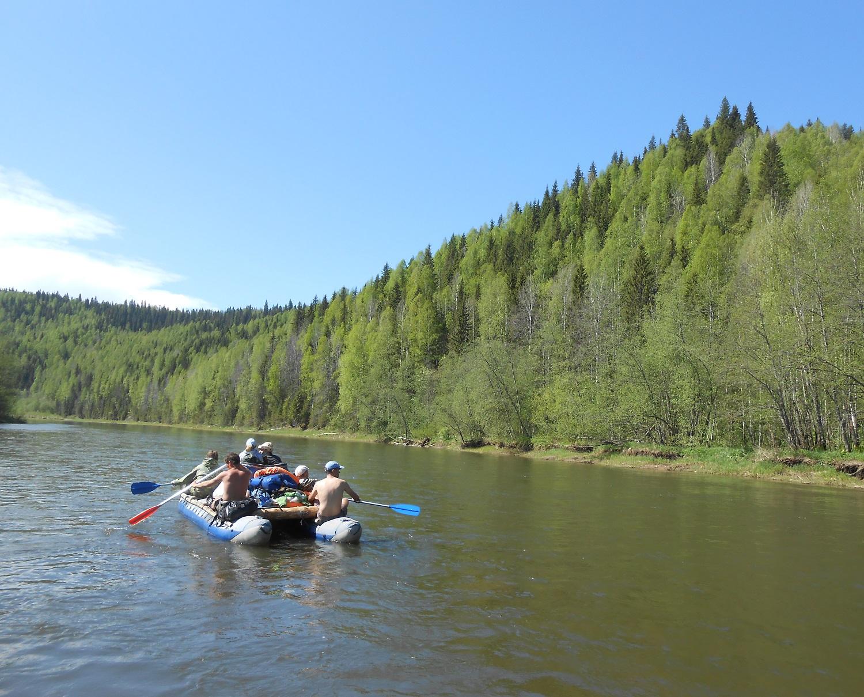 сплавы по рекам пермского края с рыбалкой